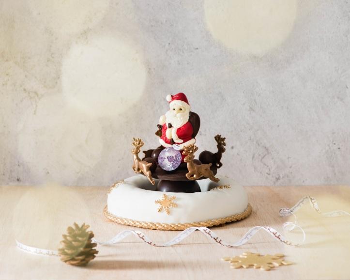 Santa's Carousel Cake