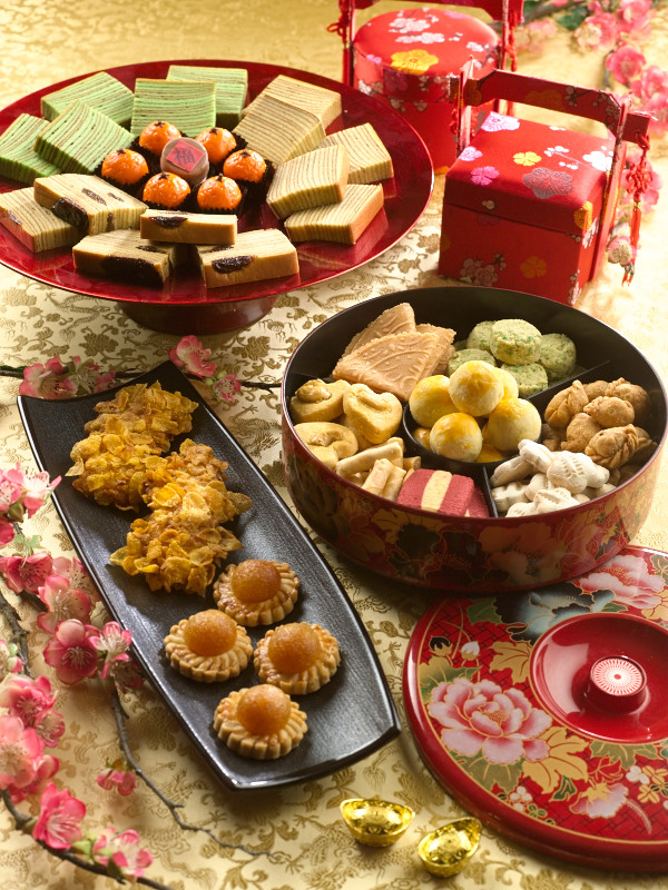 Assorted Lunar New Year Goodies