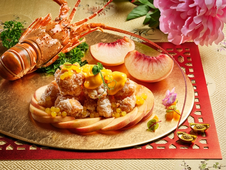 Deep-Fried Lobster with White Peach Mayonnaise Sauce