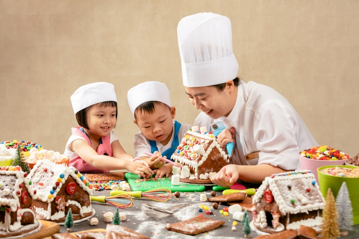 Gingerbread House Workshop_Shangri-La Hotel Singapore