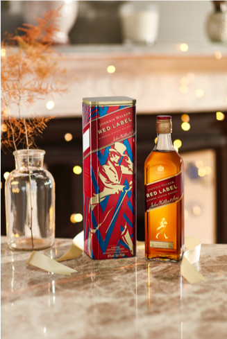 Johnnie Walker Red Label Limited Edition Tin Packs