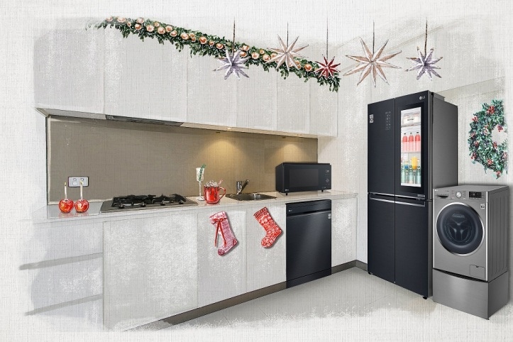 LG Digital Christmas Gift Guide Kitchen 1