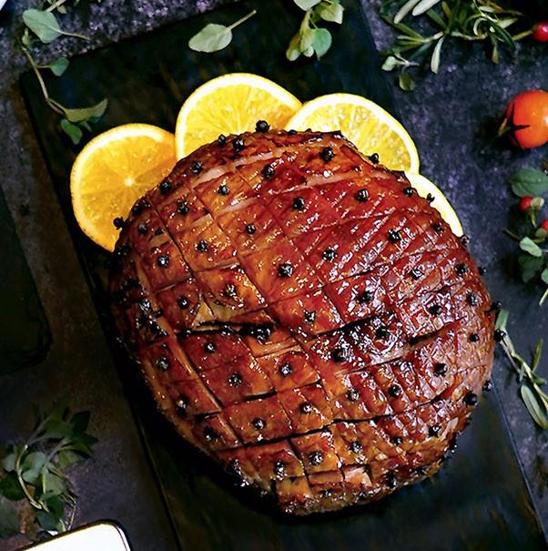 Maple and Clove Gammon Ham