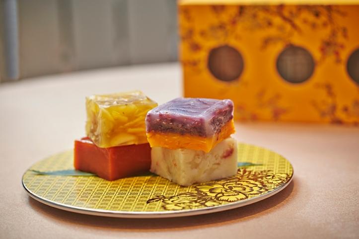 Pumpkin and Purple Sweet Potato Cake (Orchard Hotel Singapore)