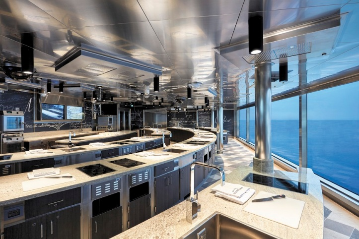 Regent Seven Seas Cruises Culinary Arts Kitchen