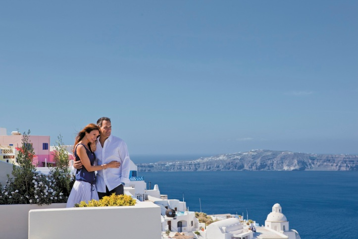 Santorini Couple