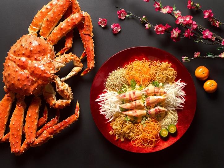 Alaskan Crab Lo Hei