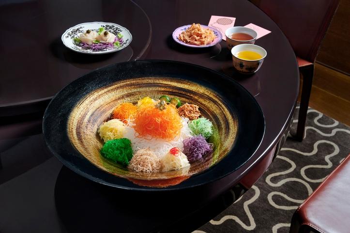 Hokkaido King Scallop, Black Caviar Yu Sheng_1mb