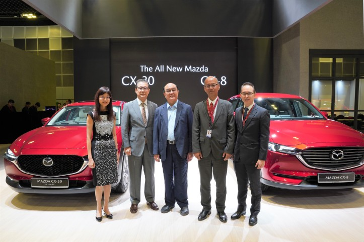 Senior Management of Eurokars Group and Mazda Motor Corporation
