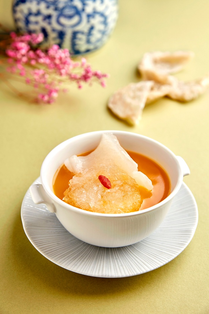 Szechuan Court - Chef's Superior Consomme, Fish Maw, Bird's Nest