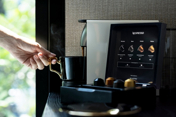 The Outpost Hotel_In-Room Amenities_Nespresso_Hi Res