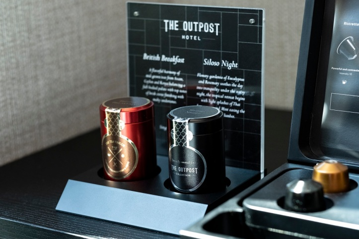 The Outpost Hotel_In-room Amenities_Pryce Tea_Hi Res