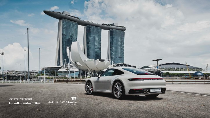 Porsche becomes the first Official Automotive Partner of Marina Bay Sands_With Logo