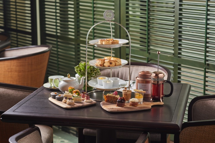 Regent Singapore_Tea Lounge_English Garden_Three Tier Set