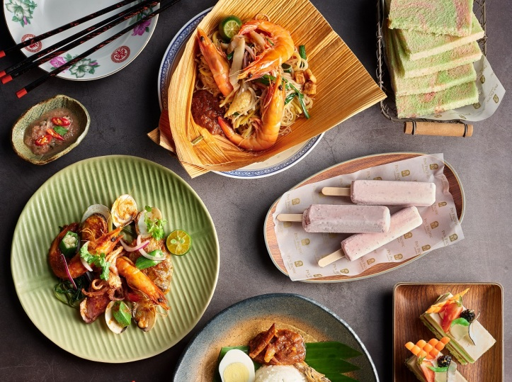 A Celebration of Singapore Flavours at Edge