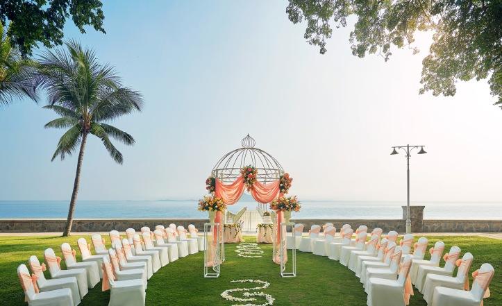 Garden Wedding Set up 02 v2