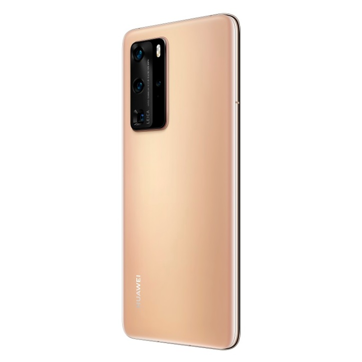 P40 Pro_Blush_Gold_Rear_30_Left