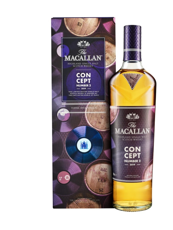 The Macallan Concept Number 2 Pack Shot