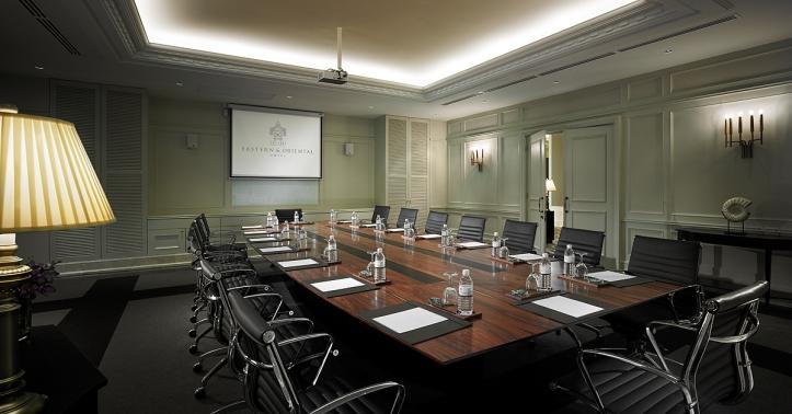 VA Anson Suite - boardroom setup
