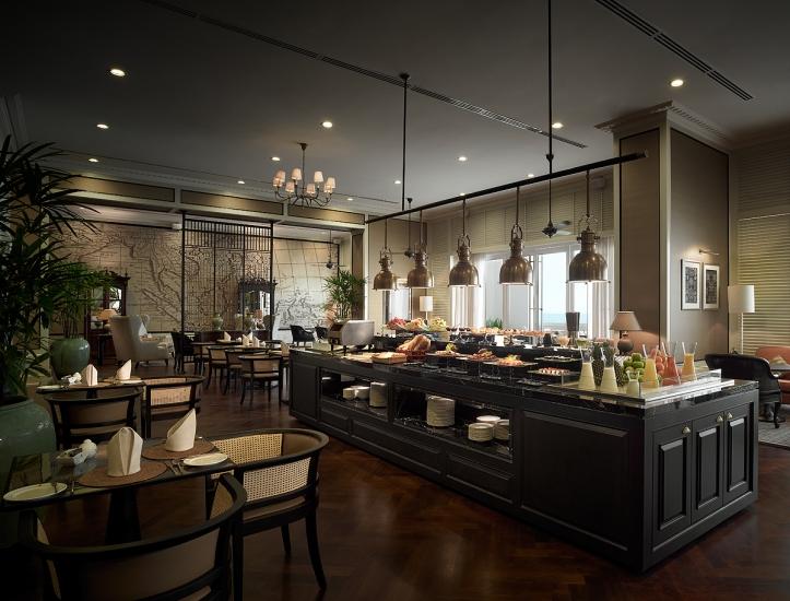VA Planters Lounge buffet area