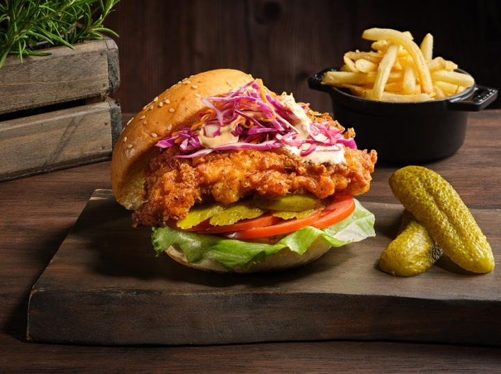 Buttermilk Fried Chicken Burger (1)
