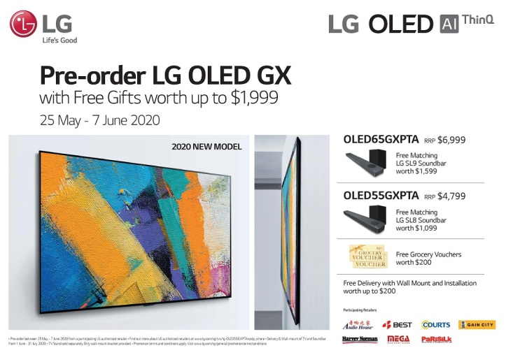 LG OLED GX Preorder
