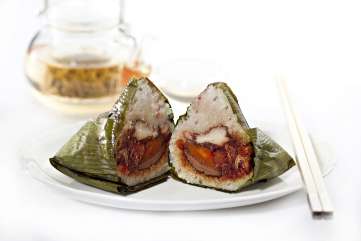 Xin Cuisine - Teochew Style Dried Shrimp and Red Bean Dumpling