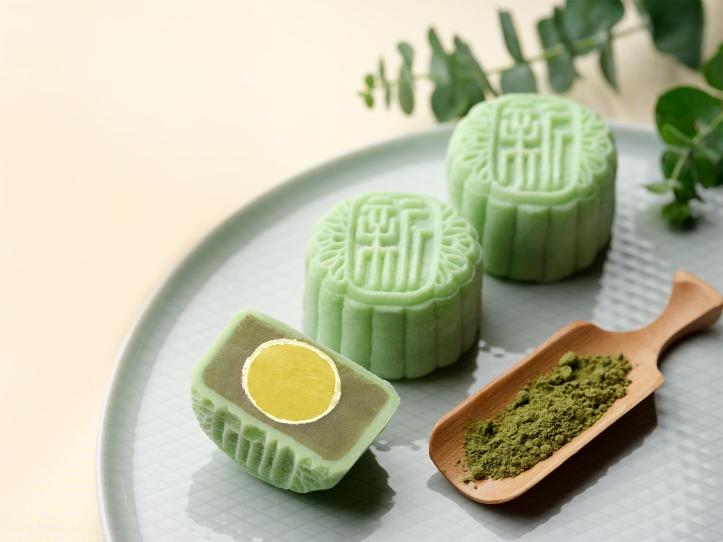 (NEW) Green Tea Paste with Jackfruit Praline