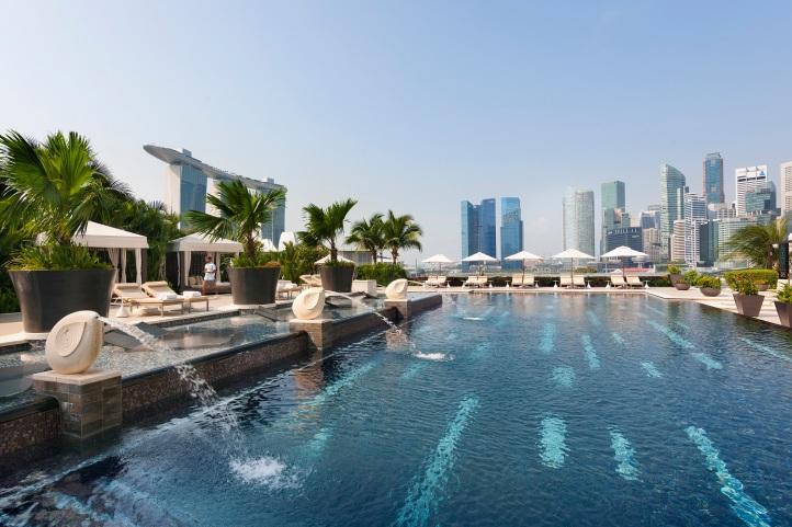Mandarin Oriental, Singapore - Outdoor Pool