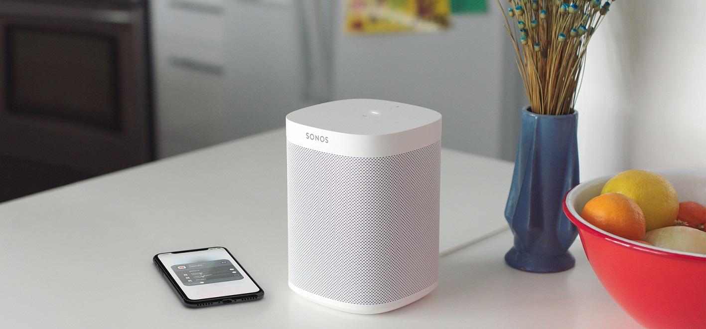 Sonos One White Lifestyle 2