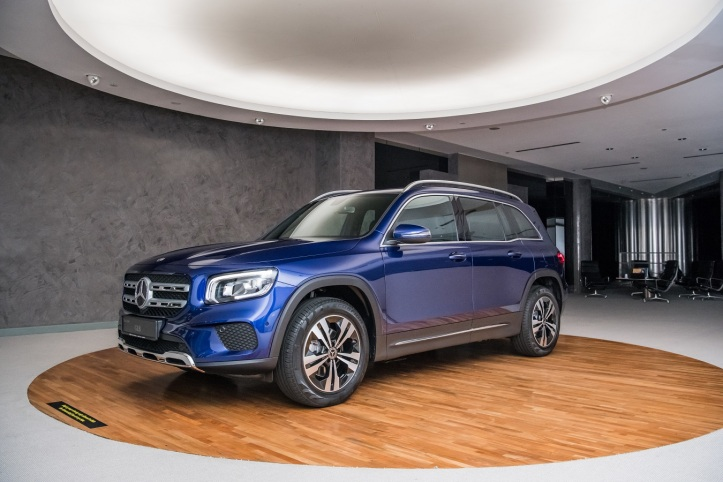 The new Mercedes-Benz GLB 200 Progressive (9)