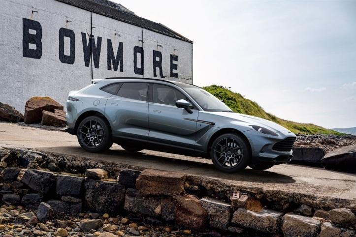Aston Martin reveals exclusive DBX Bowmore Edition