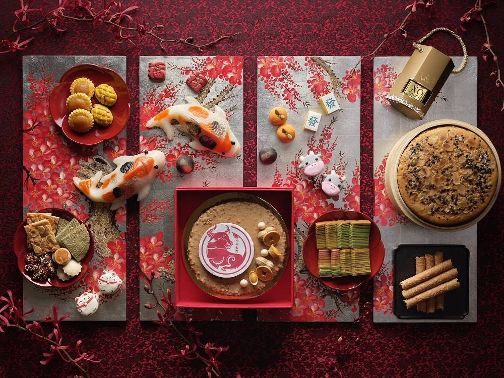 Lunar New Year Goodies at Pan Pacific Singapore