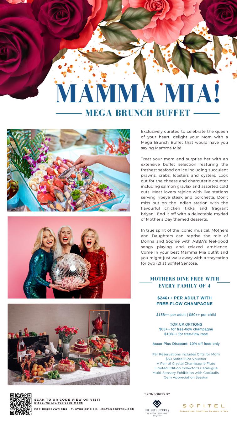 Mamma Mia! Mega Brunch Buffet