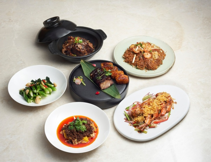 yi by Jereme Leung Home Dining Set Menu for 4 Persons
