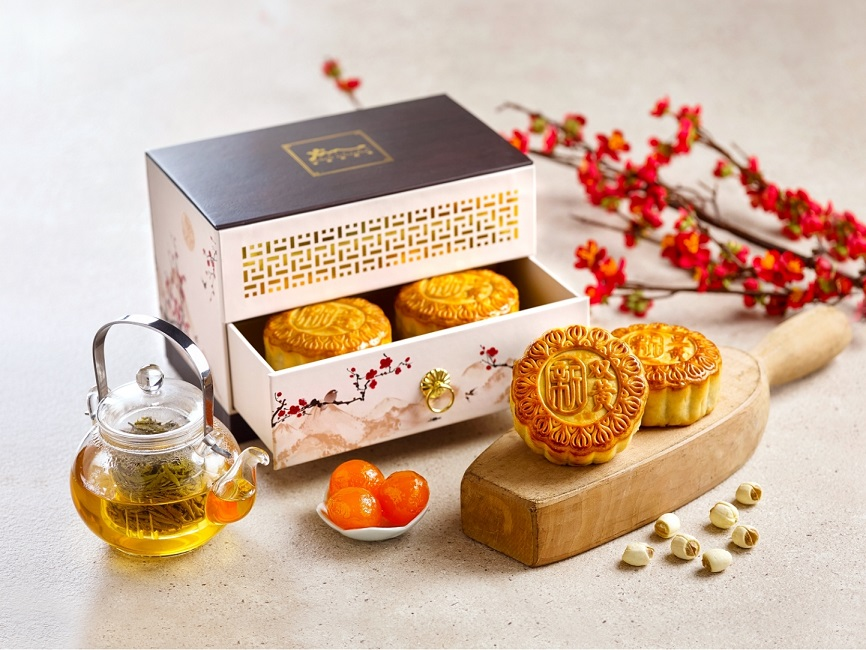 Holiday Inn Singapore Atrium - Assorted Traditional Baked Mooncake with Box 2021
