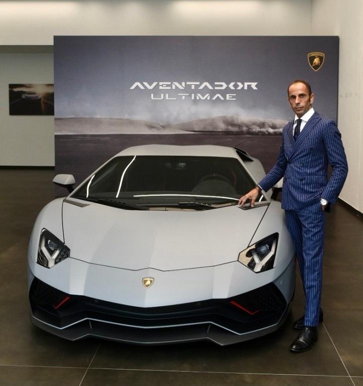 Francesco Scardaoni, Region Director, APAC, Automobili Lamborghini